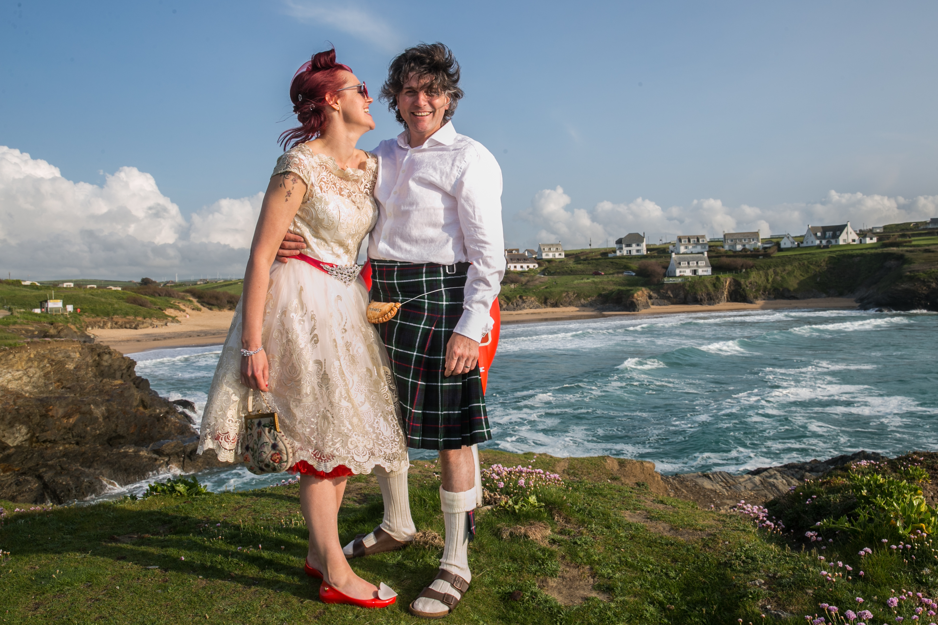 Jill & Simon, seaside wedding, Padstow, Cornwall-71