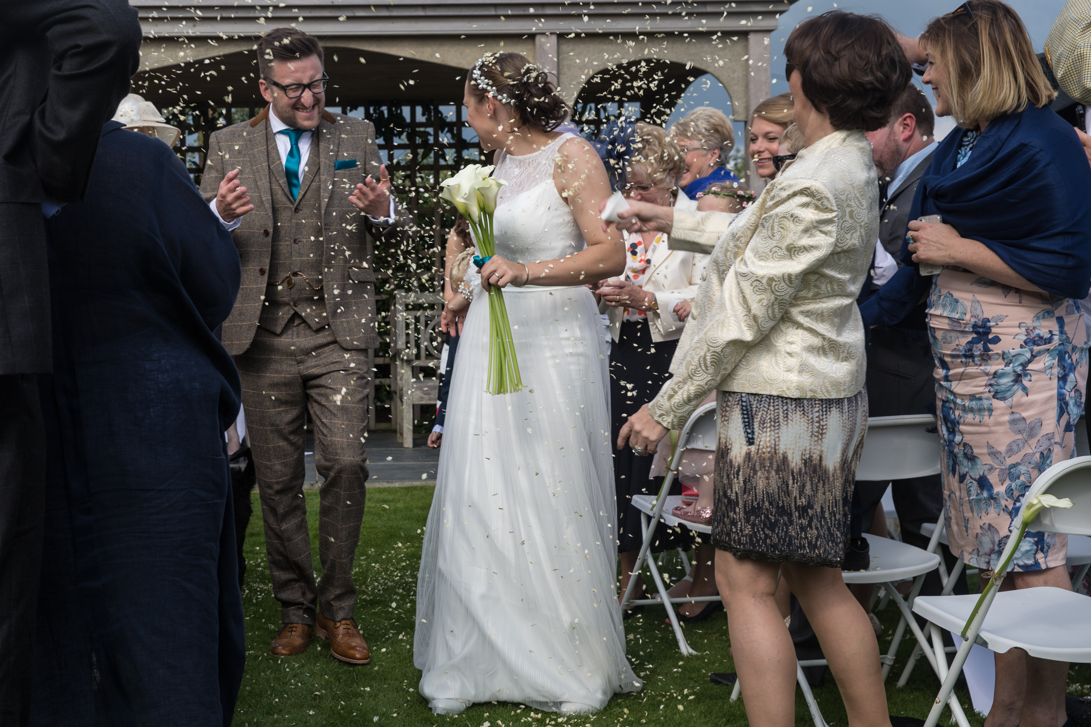 Kim & Richard's wedding