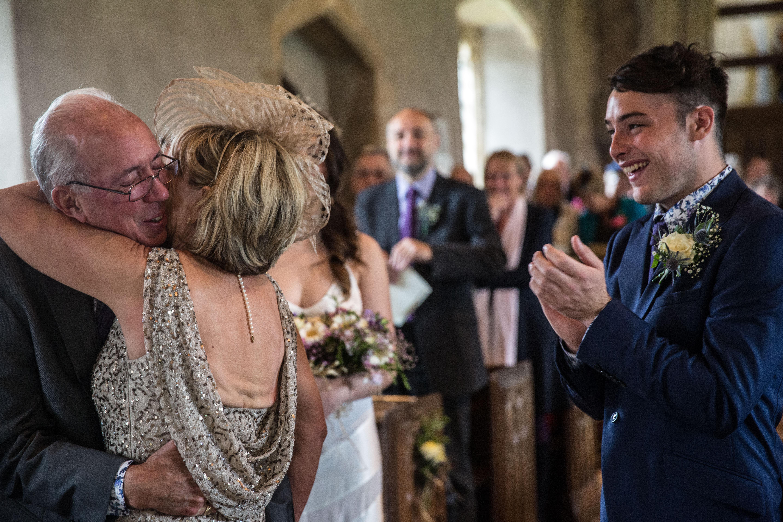 Carolyn & Richard's wedding