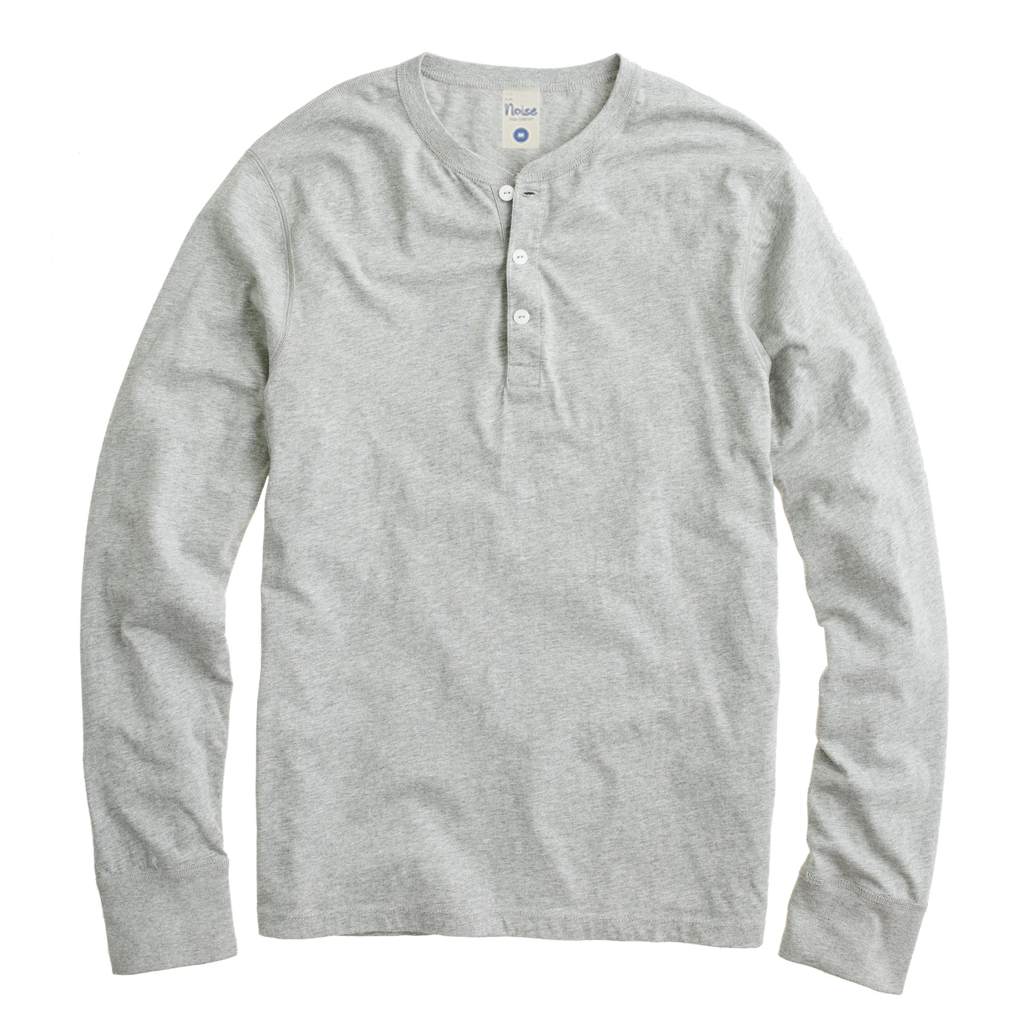 Cotton Heather Tee LS 02