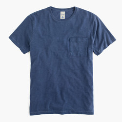 Crew neck short sleeves pocket tee