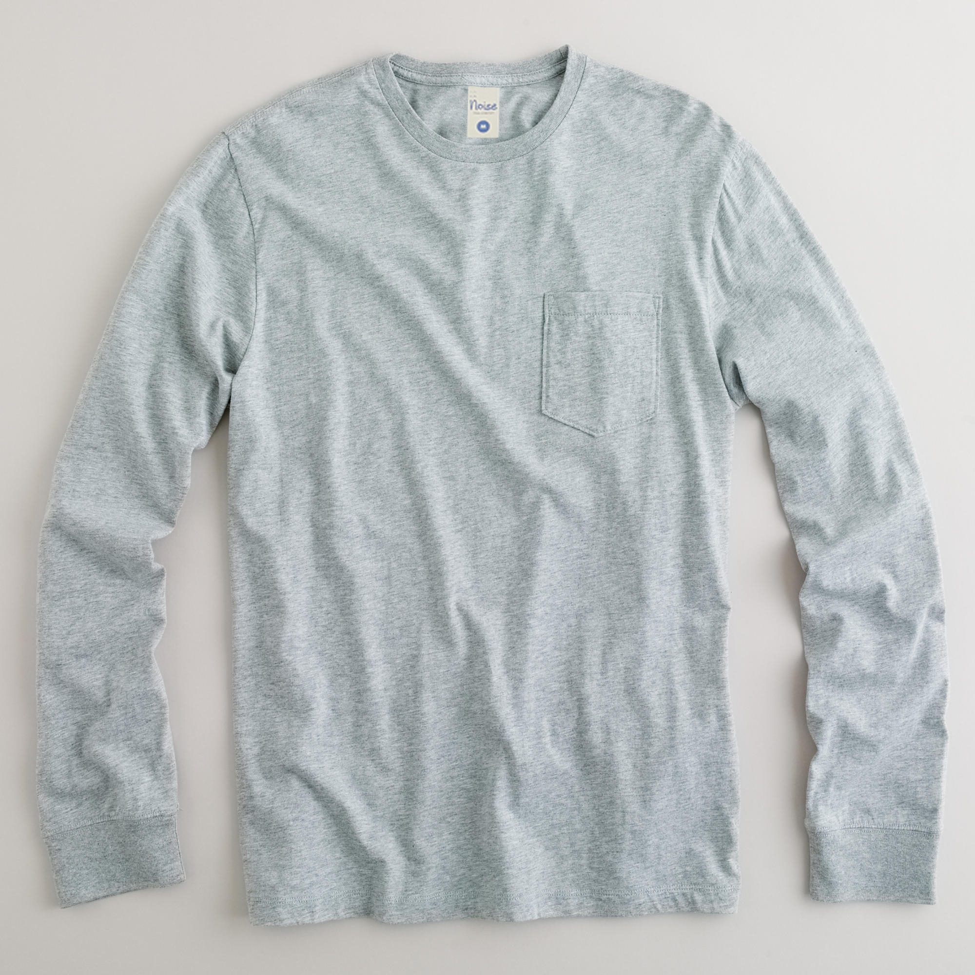 Cotton Heather Tee LS 01