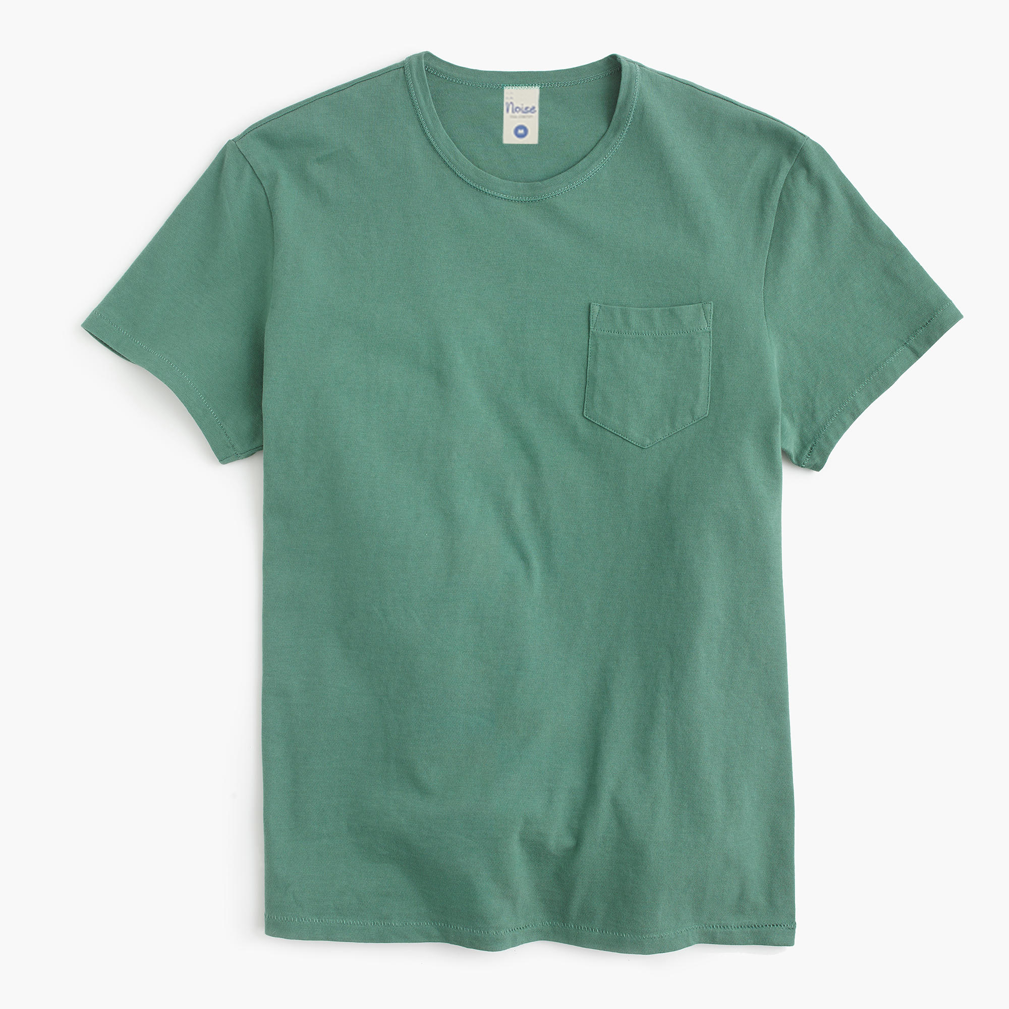 Crew neck short sleeves pocket tee