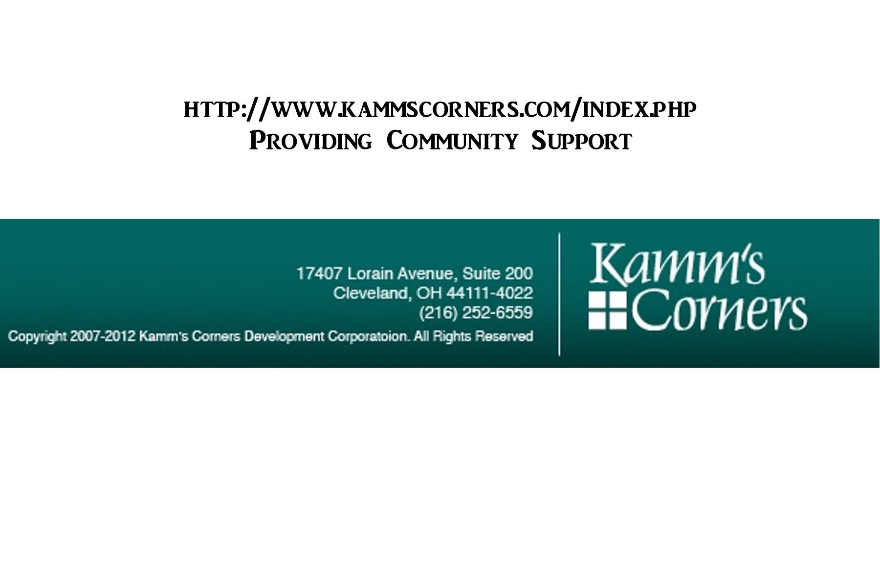Kamms Corner Dev Corporation