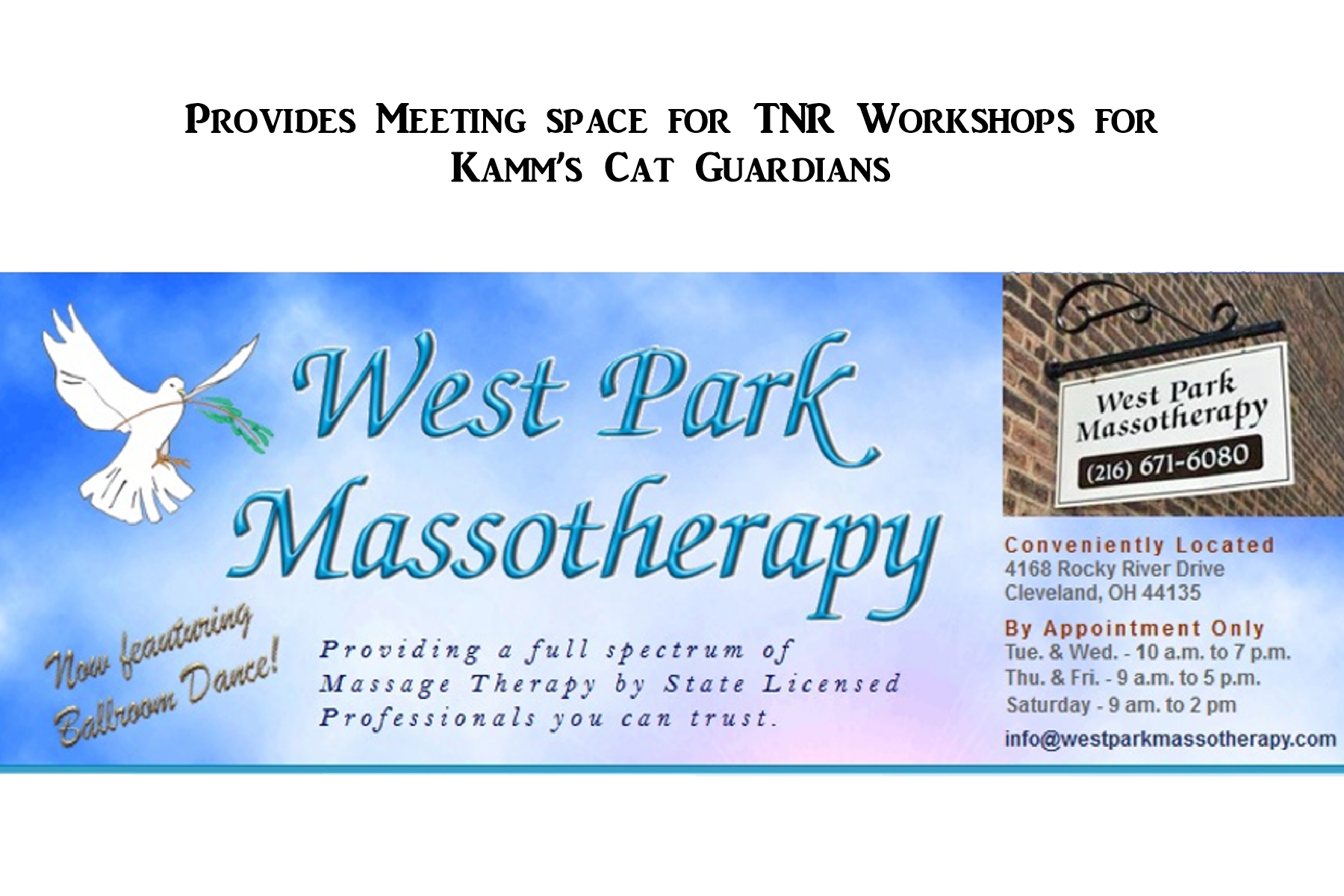 Copy of West Park Masso