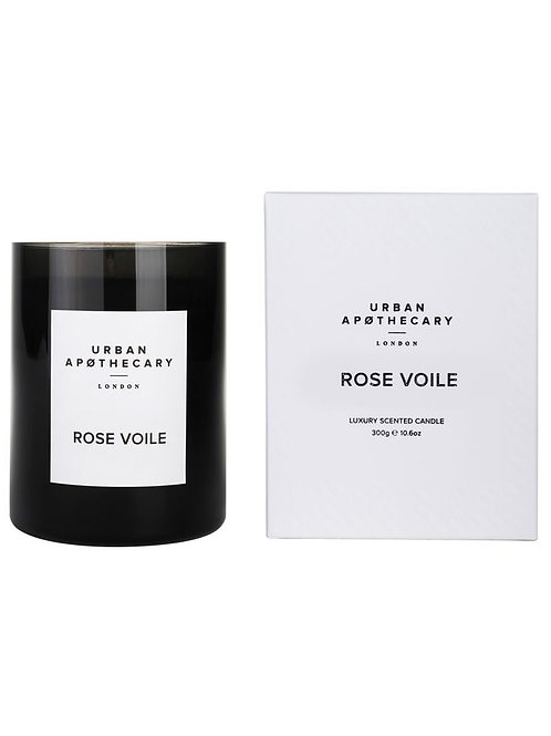 Urban Apothecary Rose Voile Candle 300G