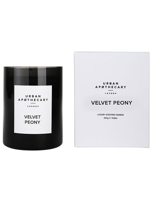 Urban Apothecary Velvet Peony Candle 300G