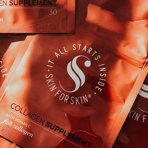 90 capsules Skin For Skin Collageen Supplement