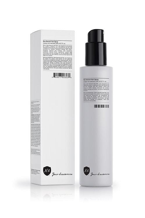 Non aerosol hair spray