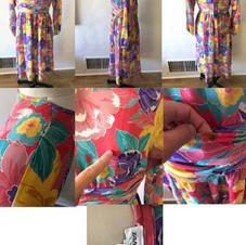 VINTAGE TANNER DRESS