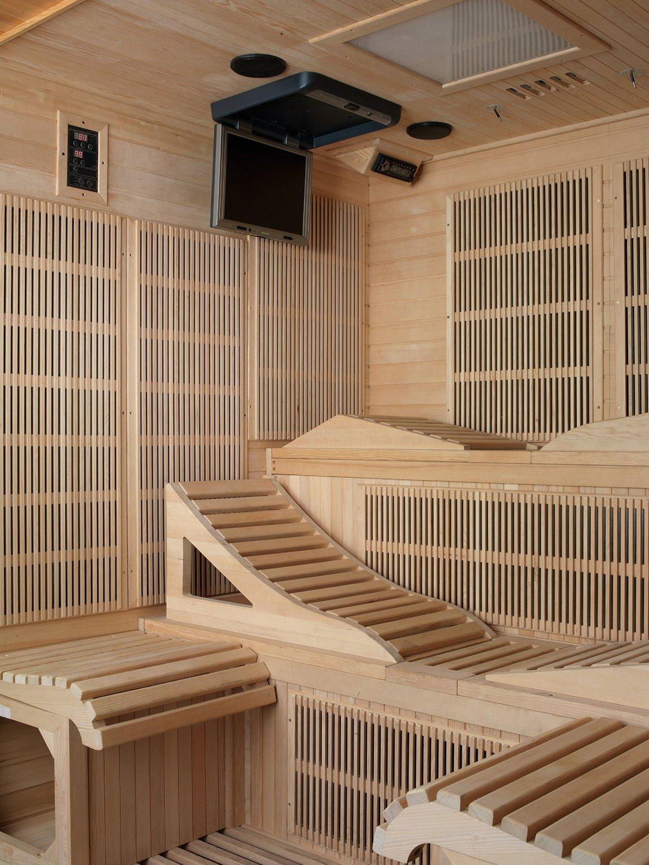 Sauna infrarrojo para 2