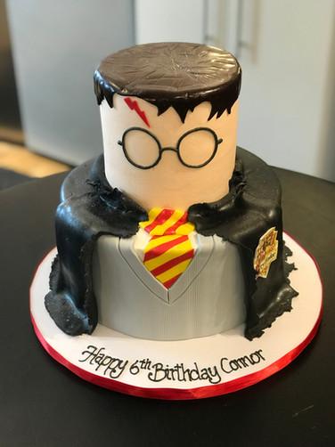 Tiered Harry Potter Uniform Birthday Cake