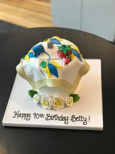 Sewn Quilt Birthday Cake