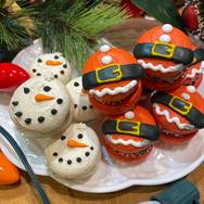 Santas and the Snowmen