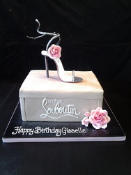 Louboutin Stiletto Birthday Cake