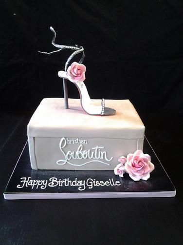 Louboutin Stiletto Birthday Cake