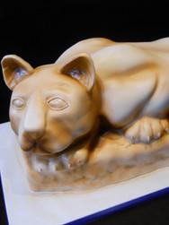 Nitany Lion Sculpted Graduation Cake