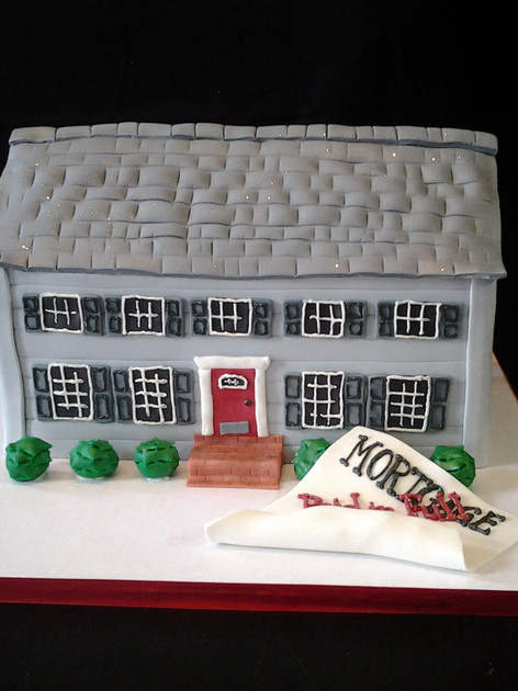 Paid Mortgage Event Cake