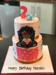 Boss Baby Girl Birthday Cake