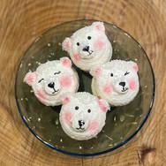 A Celebration of Polar Bear Macarons