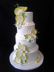 Lemon Slice Modern Wedding