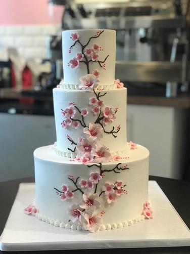 Japanese Cherry Blossom Modern Wedding