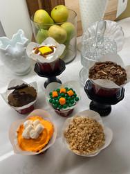 Thanksgiving Cupcakes Display