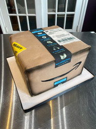 Amazon Package Birthday Cake