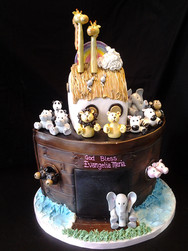 Noah's Arc Birthday Cake