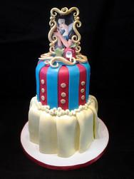Snow White Princess Birthday Cake