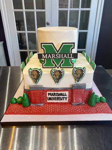 College-Proud Groom's Cake
