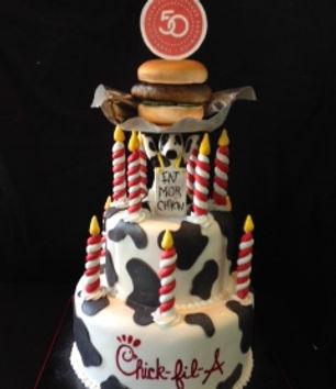 2014 Chick Fil A 50 Anniv cake.JPG