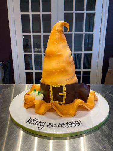 Witches Hat Birthday Cake