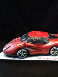 Ferrari Sportscar Birthday Cake