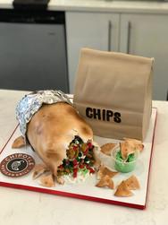 Burrito Groom's Cake