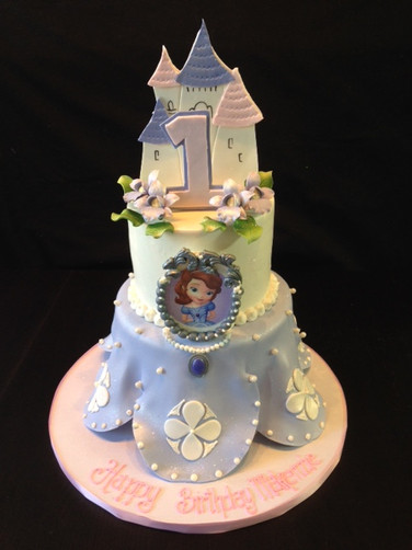Sofia the First Princess Birthday Cake