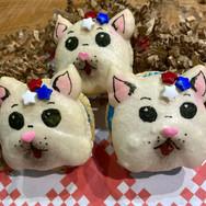'Lil Firecracker Puppy Macarons