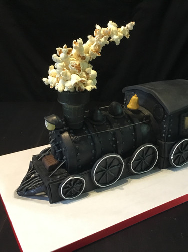 Steam Locomotive Groom's Cake