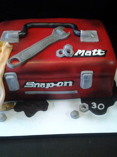 Toolbox Birthday Cake