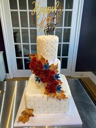 Autumn Bouquet Modern Wedding