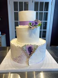 Purple Geode Modern Wedding