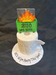 Kicking off 2021 New Year's Cake