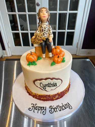 Client Mini-Me Birthday Cake