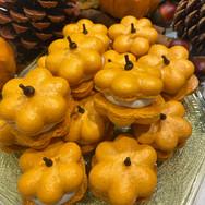 Pumpkin Patch of Macarons