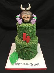 Moana Kakamora Birthday Cake