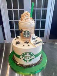 Starbucks Frappuccino Birthday Cake