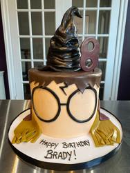 Sorting Hat Harry Potter Birthday Cake