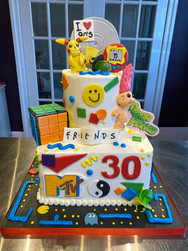 90's Kid Birthday Cake