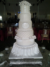 Shop-Stopper Fondant Traditional Wedding