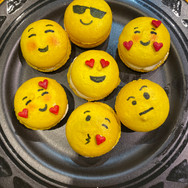 Eat Your Feelings Emoji Macarons